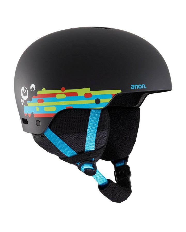 Kids' Anon Rime 3 Helmet  - Hurrrl Black - 2020 Snow Helmets - Youth - Trojan Wake Ski Snow