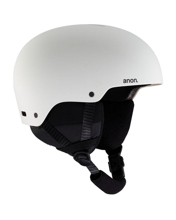 Kids' Anon Rime 3 Helmet  - White - 2020 Snow Helmets - Youth - Trojan Wake Ski Snow