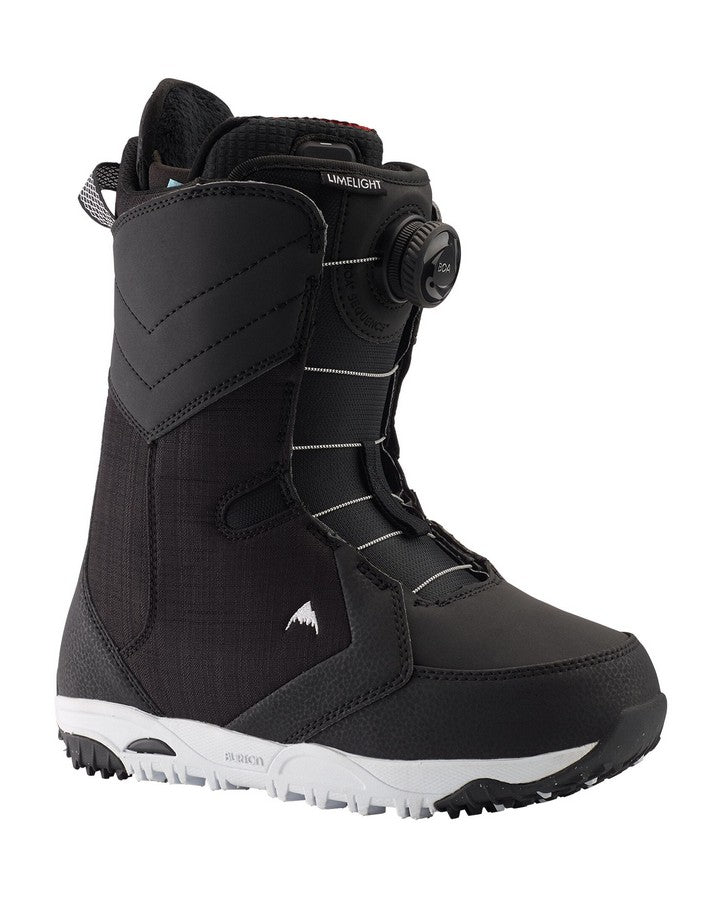 2020 Limelight Boa® Heat Snowboard Boot - Black-Snowboard Boots - Women-Burton-Blue/red-Trojan Wake Ski Snow