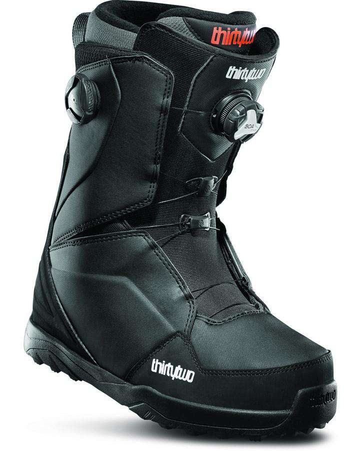 ThirtyTwo Lashed Double Boa - Black - 2020 Snowboard Boots - Men - Trojan Wake Ski Snow