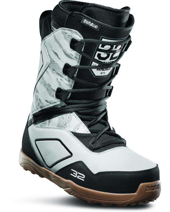 ThirtyTwo Light JP - White/Black/Gum - 2020 Snowboard Boots - Men - Trojan Wake Ski Snow