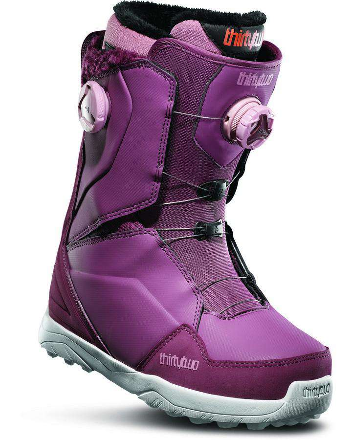 ThirtyTwo Lashed Double Boa Women's - Rose - 2020 Snowboard Boots - Women - Trojan Wake Ski Snow