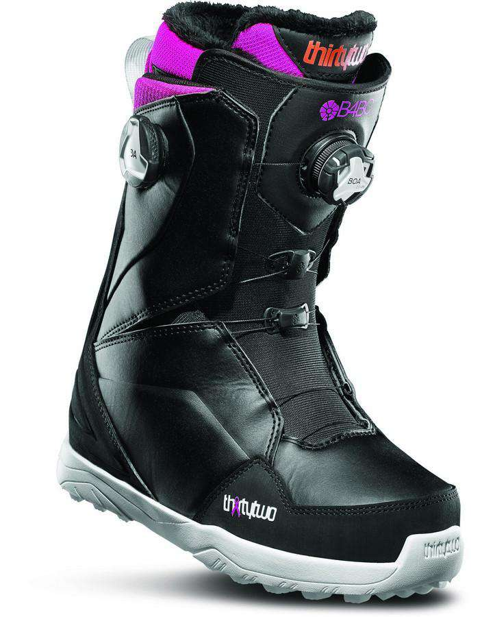 ThirtyTwo Lashed Double Boa Women's B4bc - Black/pink/white - 2020 Snowboard Boots - Women - Trojan Wake Ski Snow