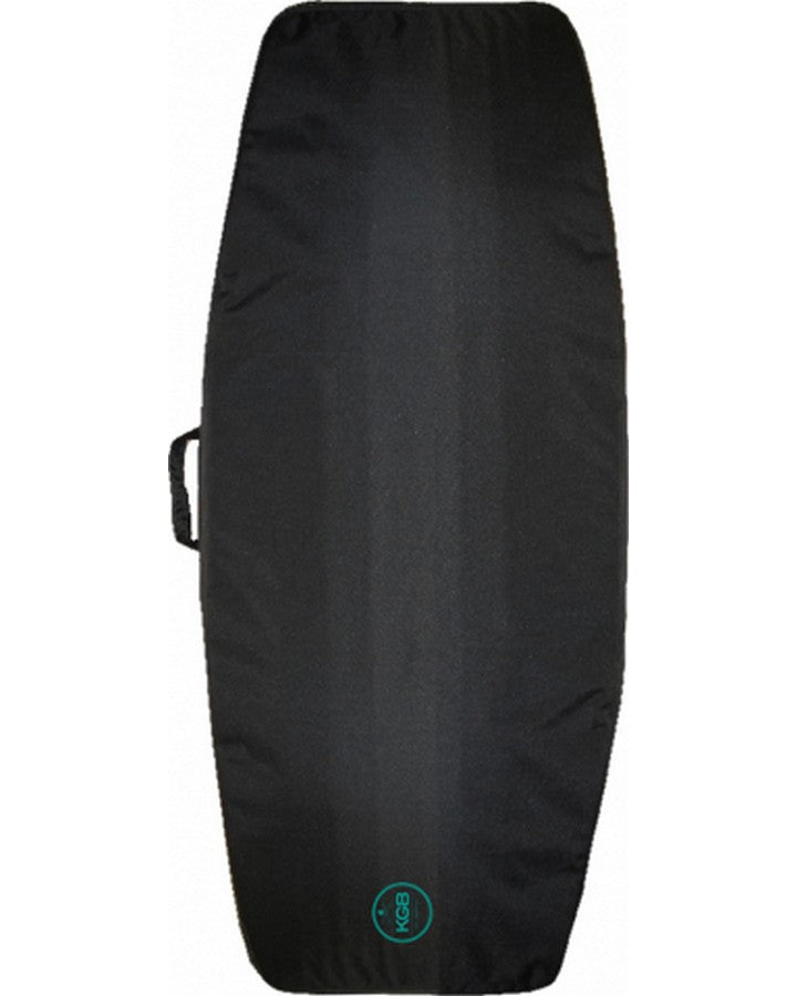 KGB Retro Kneeboard Bag - Black Marle/Teal - 2021 KNEEBOARD COVER - Trojan Wake Ski Snow