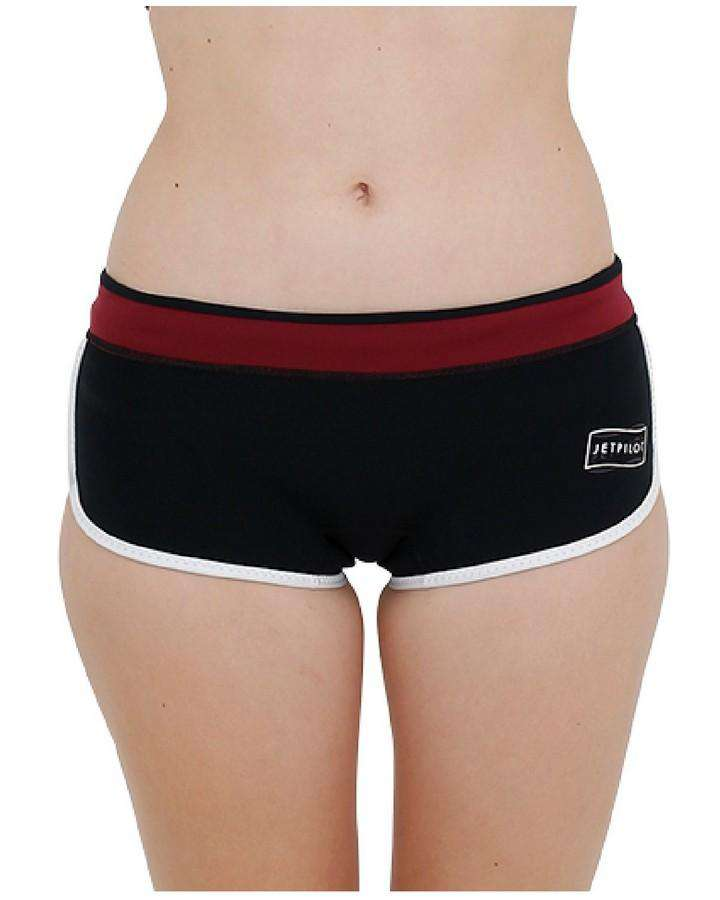 "JETPILOT FLIGHT CORP 2.5"" NEO SHORT - 2020 Wetsuit Shorts - Ladies - Trojan Wake Ski Snow"