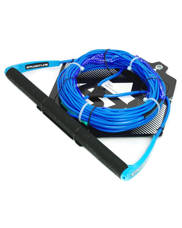 Straightline Deluxe Coated Package - Blue - 2021 Wakeboard Ropes/Handles - Trojan Wake Ski Snow