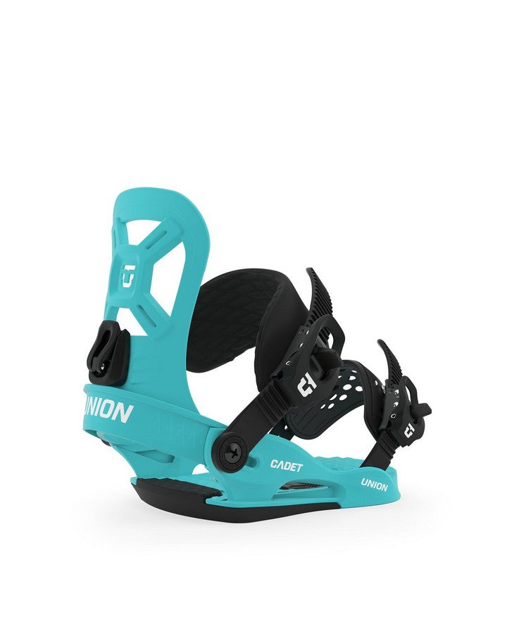 Union Cadet XS Kids Snowboard Binding - Blue - 2020 Snowboard Bindings - Youth - Trojan Wake Ski Snow