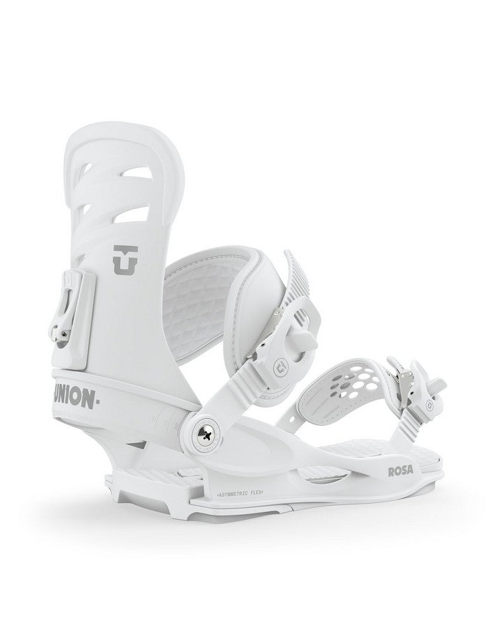 Union Rosa Snowboard Binding - White - 2020 Snowboard Bindings - Women - Trojan Wake Ski Snow