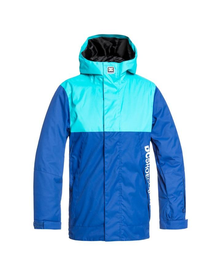 DC Youth Defy Snow Jacket - Monaco Blue - 2020 Snow Jackets - Youth - Trojan Wake Ski Snow