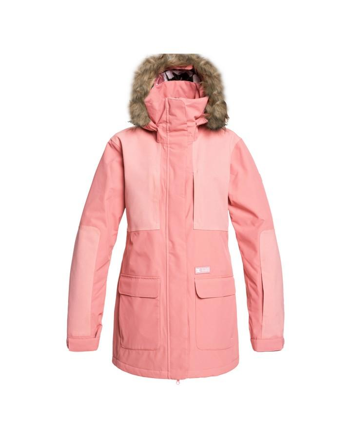 2020 DC Womens Panoramic Snow Jacket - Dusty Rose