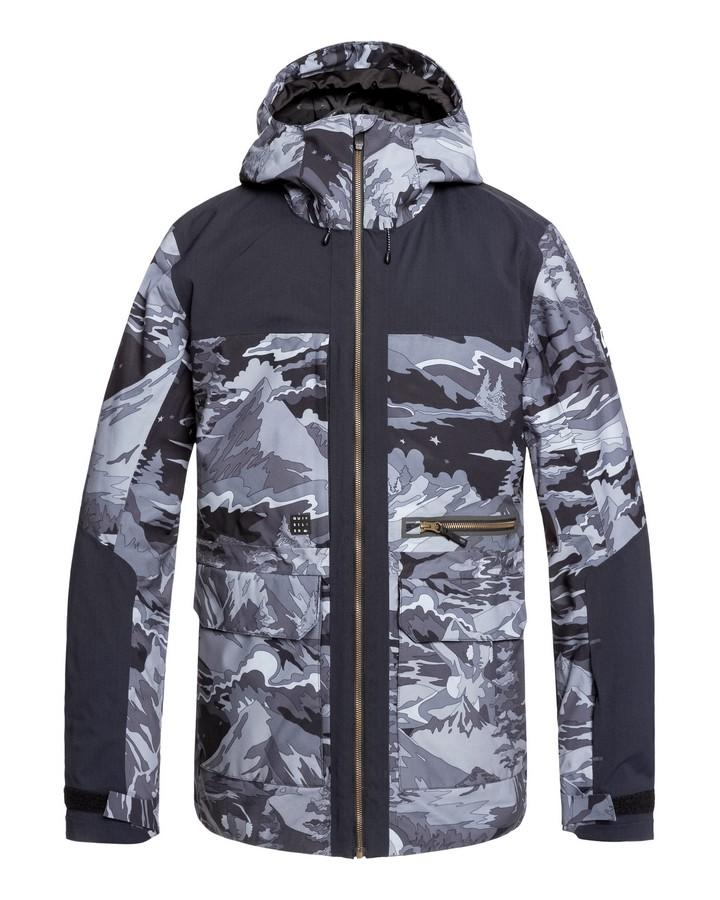 Quiksilver Mens Arrow Wood - Snow Jacket - Black Snowscene - 2020 Snow Jackets - Mens - Trojan Wake Ski Snow