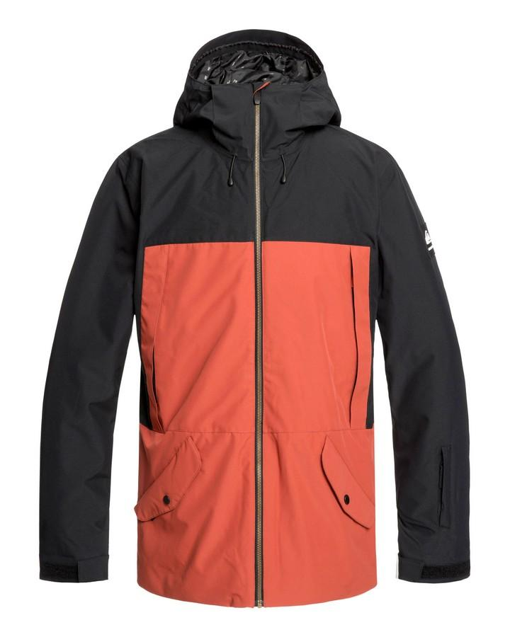 Quiksilver Mens Travis Rice Ambition 15K Snow Jacket - Black - 2020 Snow Jackets - Mens - Trojan Wake Ski Snow