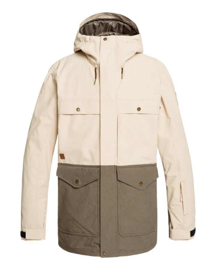 Quiksilver Mens Horizon Snow Jacket - Grape Leaf - 2020 Snow Jackets - Mens - Trojan Wake Ski Snow
