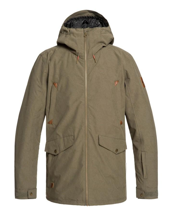Quiksilver Mens Drift 10k Snow Jacket - Grape Leaf - 2020 Snow Jackets - Mens - Trojan Wake Ski Snow