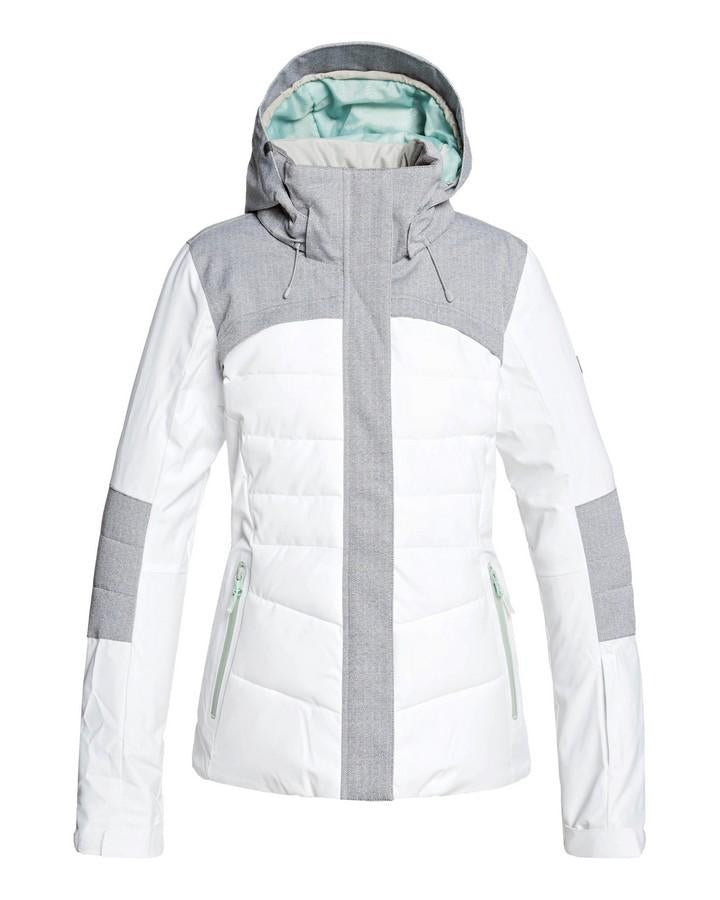 Roxy Womens Dakota - Snow Jacket - Bright White - 2020 Snow Jackets - Womens - Trojan Wake Ski Snow