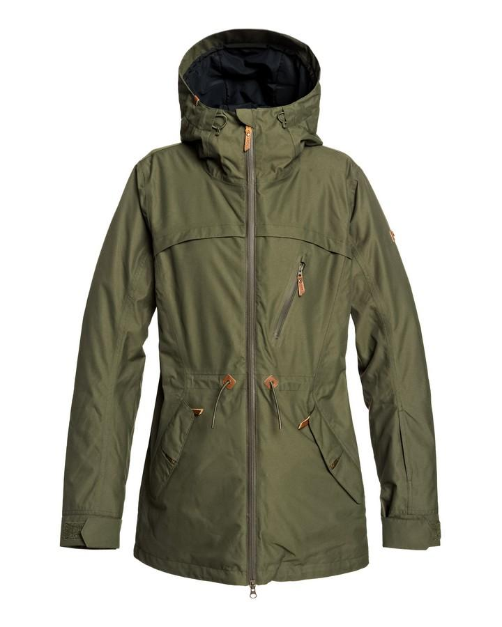 2020 Roxy Womens Stated Snow Jacket - Ivy Green