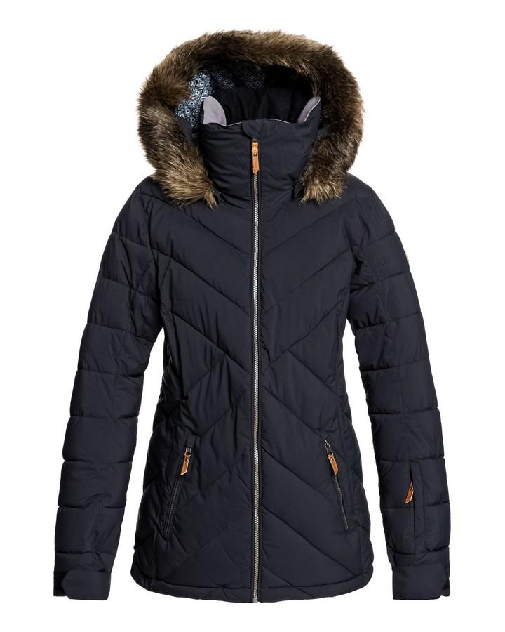 2020 Roxy Womens Quinn Snow Jacket - True Black