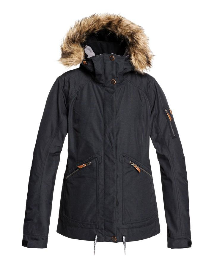 2020 Roxy Womens Meade Snow Jacket - True Black