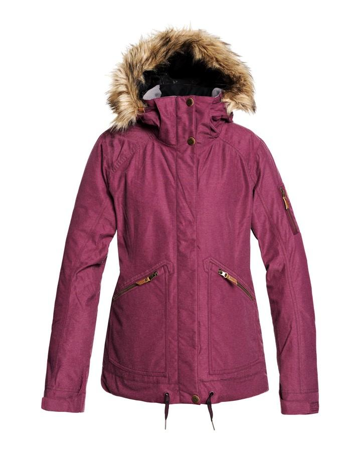 2020 Roxy Womens Meade Snow Jacket - Grape Wine
