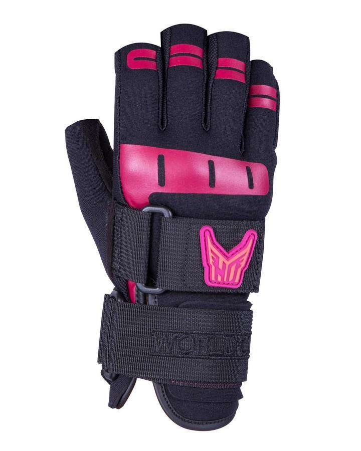 HO Women's World Cup 3/4 Glove - 2020 Waterski Gloves - Women - Trojan Wake Ski Snow