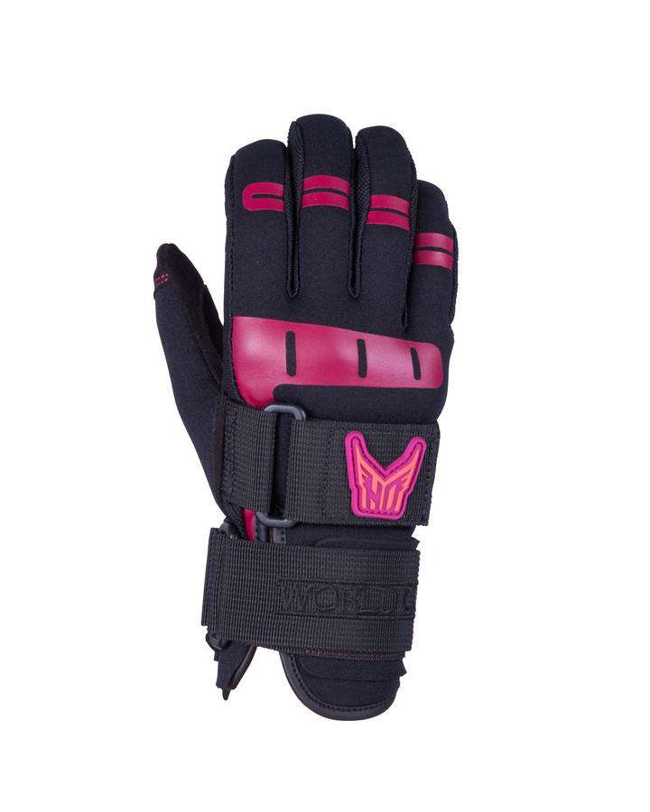 HO Women's World Cup Glove - 2021 Waterski Gloves - Women - Trojan Wake Ski Snow