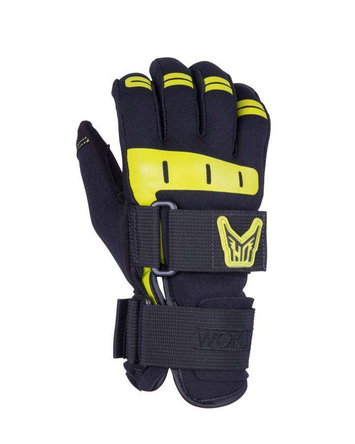 HO Mens World Cup Glove - 2021 Waterski Gloves - Men - Trojan Wake Ski Snow