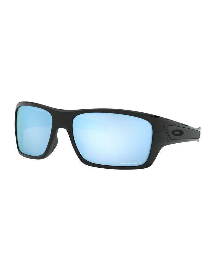 Oakley Turbine - Polished Black w Prizm Deep H2O Polarized SUNGLASSES - Trojan Wake Ski Snow