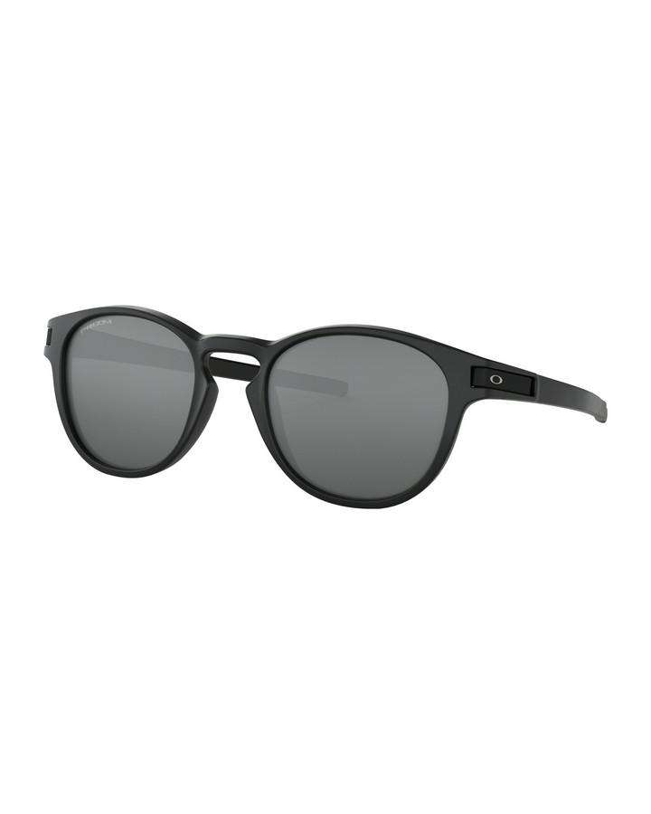 Oakley Latch - Matte Black w Prizm Black SUNGLASSES - Trojan Wake Ski Snow