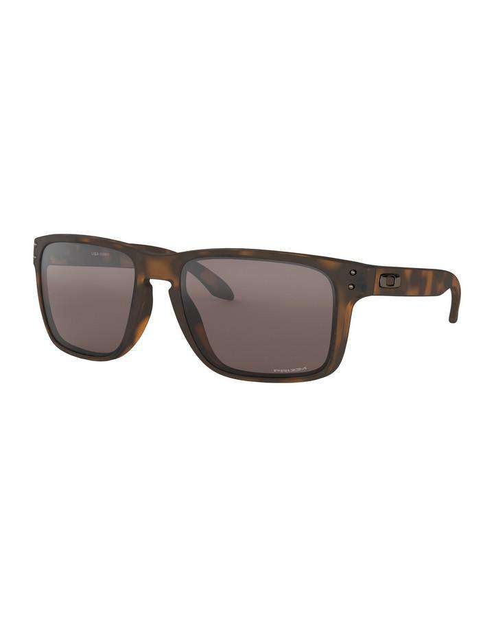 Oakley Holbrook XL - Matte Brown Tortoise w Prizm Black SUNGLASSES - Trojan Wake Ski Snow