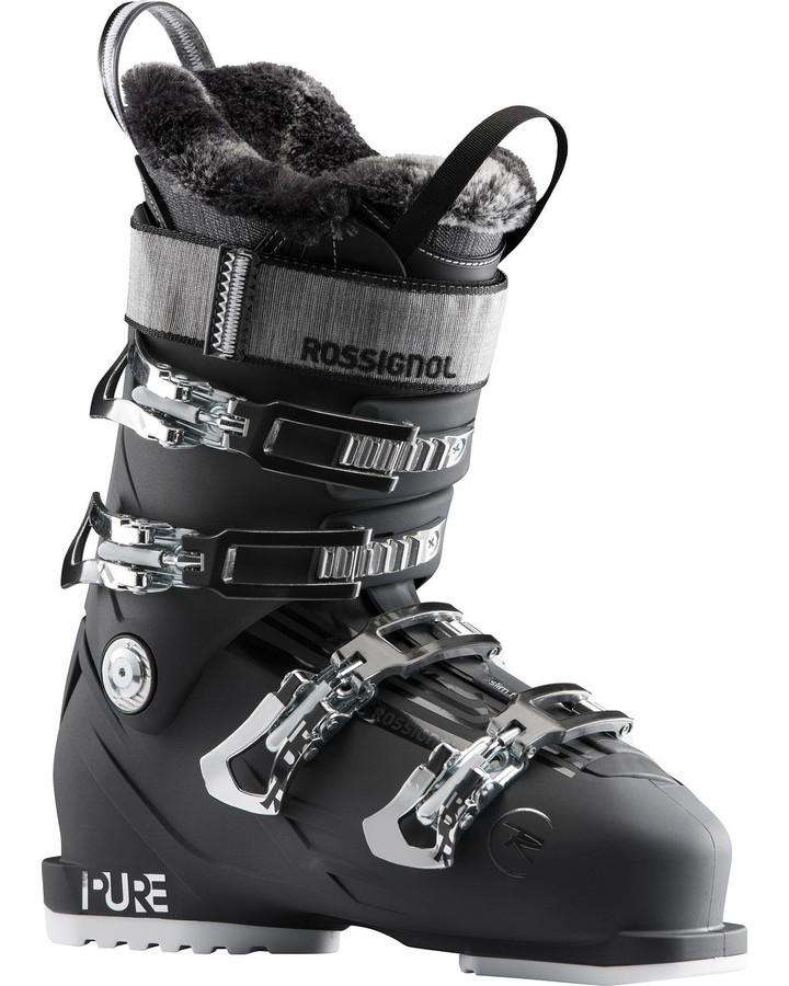 Rossignol Pure Pro 80 - Soft Black - 2021 Snow Ski Boots - Womens - Trojan Wake Ski Snow