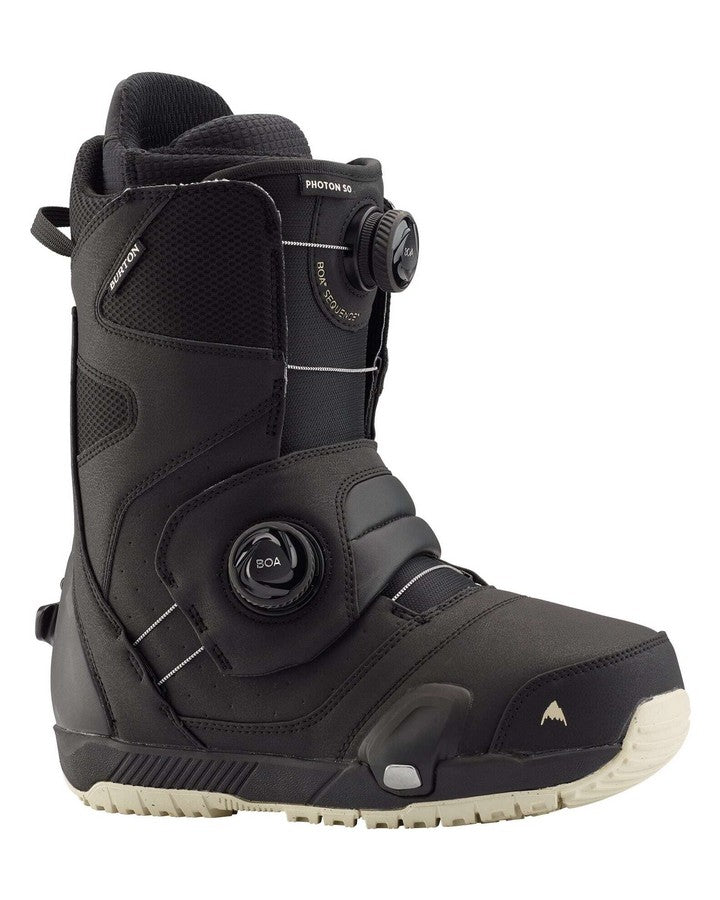 Burton Photon Step On Wide Mens Snowboard Boot - Black Snowboard Boots - Men - Trojan Wake Ski Snow