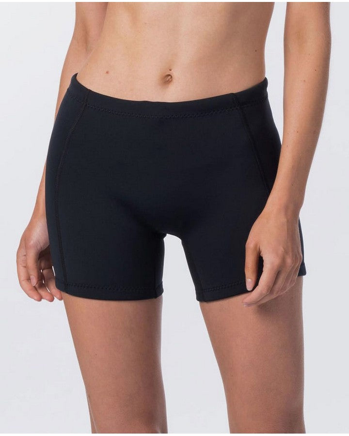 Rip Curl Womens Dawn Patrol 1mm Neo Shorts - 2021 Wetsuit Shorts - Ladies - Trojan Wake Ski Snow