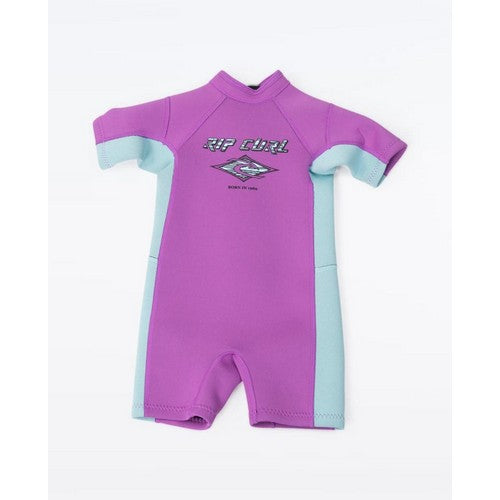 Rip Curl Groms 1.5mm Omega Short Sleeve Spring Suit - Purple SPRING SUITS - KIDS - Trojan Wake Ski Snow
