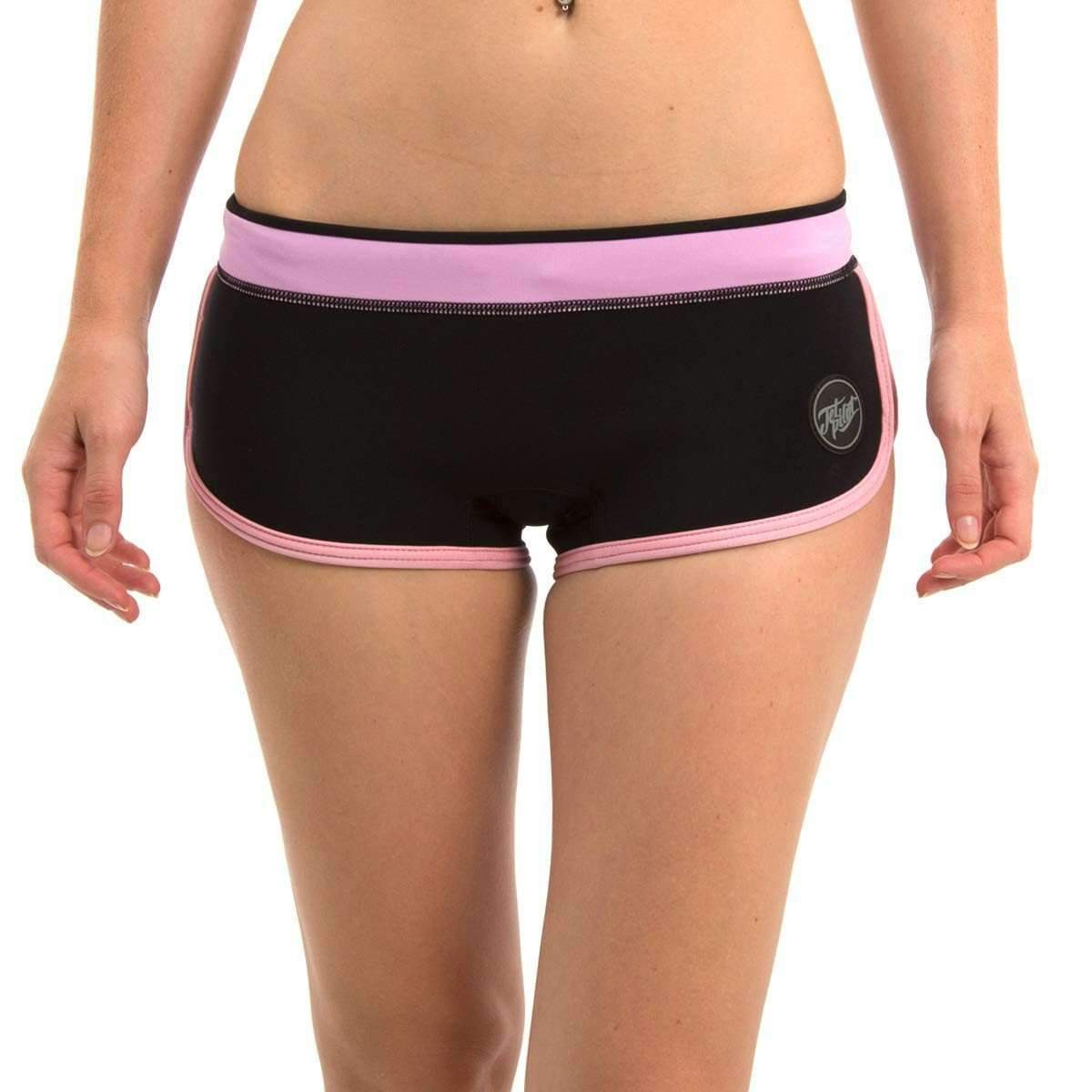 RIPCURL Wetsuit Shorts - Ladies 6 / Black JETPILOT SCRIPT 2MM LADIES NEO SHORT BLACK/PINK