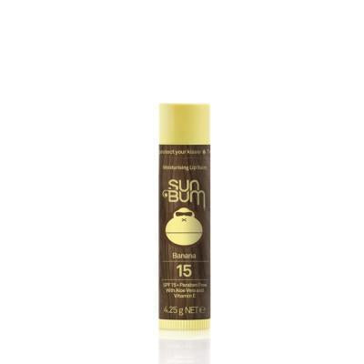 SUN BUM SPF15 LIP BALM BANANA Sun Protection - Trojan Wake Ski Snow