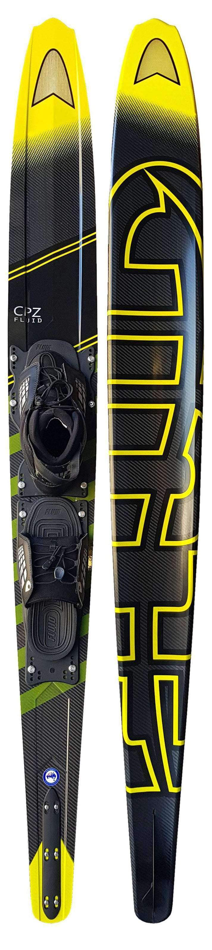 FLUID CPZ WITH GENESIS BOOTS - 2019  - Trojan Wake Ski Snow
