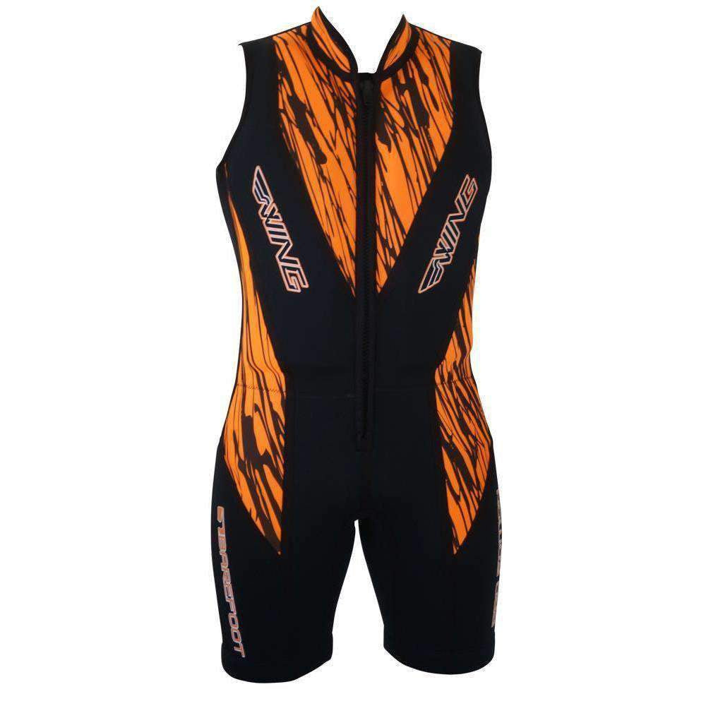 Wing Pro Barefoot Suit Orange - Barefoot Suits - Trojan Wake Ski Snow
