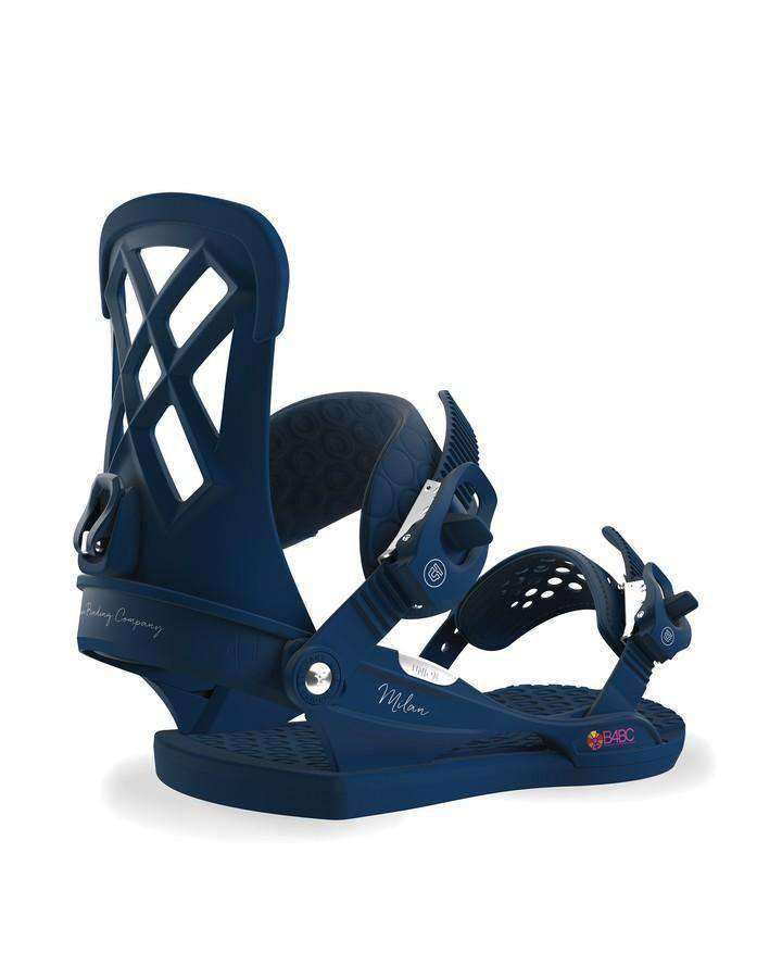 Union Milan - Midnight Blue - 2019 Snowboard Bindings - Women - Trojan Wake Ski Snow
