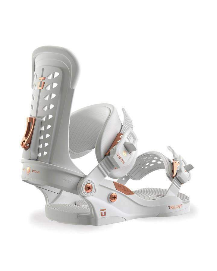 UNION Snow Bindings - Women White / S 2019 Union Trilogy - White