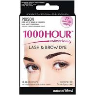1000 Hr Eyelash/Brow Tint Black