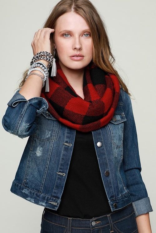 Winter Vibes Infinity Scarf