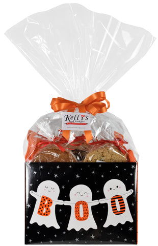 BOO! Cookie Basket (Large - 12 Cookies)