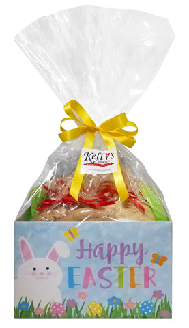 Easter Cookie Gift Basket Small six 1/4 pound gourmet cookies