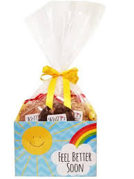 Feel Better Soon Cookie Basket (Small - 6 Cookies)