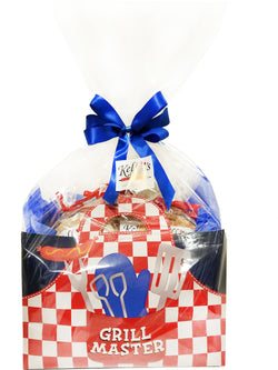 Grill Master Cookie Basket (Large - 12 Cookies)