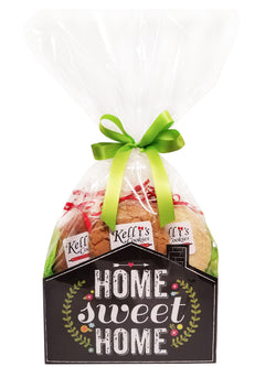Home Sweet Home Cookie Basket (Large - 12 Cookies)