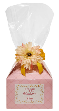 Mother's Day Daisy Cookie Box (Large - 8 Cookies)