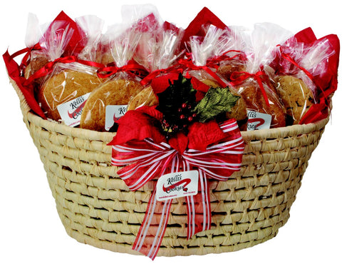 Bountiful Wicker Basket (24 Cookies)