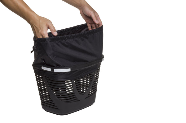 Hold 'Em Basket with water-resistant cinch-top cover