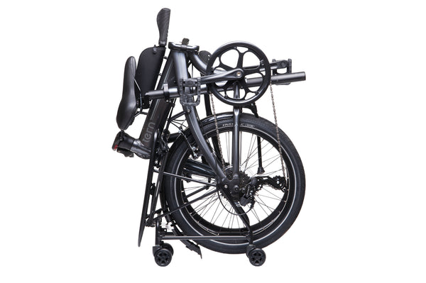 Tern Rapid Transit rack for easy navigation of folding bike